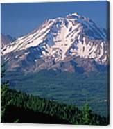 Mt Shasta Across Lake Siskiyou, Mt Canvas Print