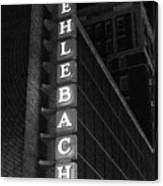 Muehlebach Hotel Kansas City Canvas Print