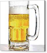 Mug Of Beer Canvas Print