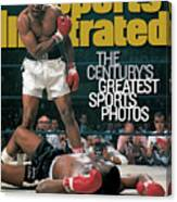 Muhammad Ali, 1965 World Heavyweight Title Sports Illustrated Cover Canvas Print