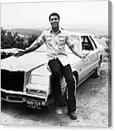 Muhammad Ali Car Canvas Print