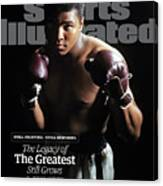 Muhammad Ali Still Fighting, Still Inspiring. The Legacy Of Sports Illustrated Cover Canvas Print