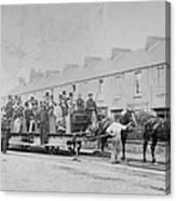 Mumbles Train Canvas Print