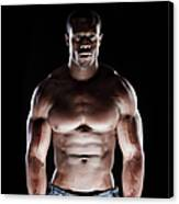 Muscular Man Canvas Print