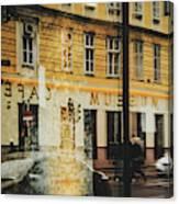Museum Cafe Canvas Print