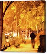 My Blurred World Canvas Print