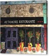 My Favorite Restaurant Canvas Print