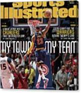 My Town, My Team LeBron James And The Cavaliers Take The Sports Illustrated Cover Canvas Print