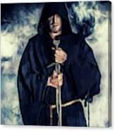 Mystic Monk Canvas Print
