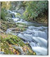 Nantahala Fall Flow Canvas Print