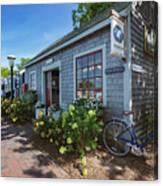 Nantucket Dock Canvas Print
