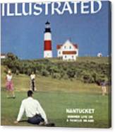 Nantucket Island Golf Sports Illustrated Cover Canvas Print
