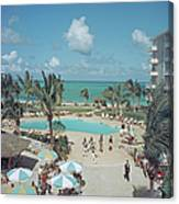 Nassau Beach Hotel Canvas Print