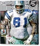 Nate Newton, Where Are They Now Sports Illustrated Cover Canvas Print