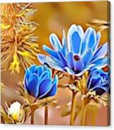 Naturalness And Flowers 47 Canvas Print