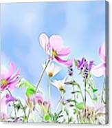 Naturalness And Flowers 59 Canvas Print