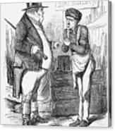 Naval Reform, 1859 Canvas Print