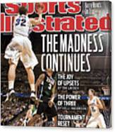Ncaa Basketball Tournament - Third Round - Denver Sports Illustrated Cover Canvas Print