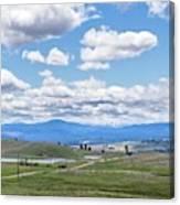 Near Princeton British Columbia Canvas Print