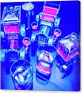 Neon Bar Canvas Print