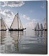 Netherlands, Race Of Traditional Canvas Print
