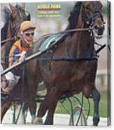 Nevel Pride, Harness Racing Sports Illustrated Cover Canvas Print