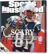 New England Patriots Randy Moss Sports Illustrated Cover Canvas Print