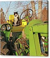 New Hired Hand Canvas Print