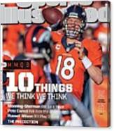 New Jersey Bound Super Bowl Xlviii Preview Issue Sports Illustrated Cover Canvas Print