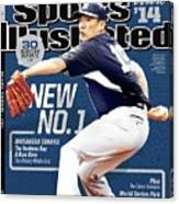New No. 1 2014 Mlb Baseball Preview Issue Sports Illustrated Cover Canvas Print