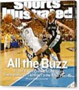 New Orleans Hornets Chris Paul, 2008 Nba Western Conference Sports Illustrated Cover Canvas Print