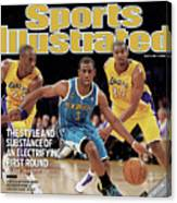 New Orleans Hornets Chris Paul, 2011 Nba Western Conference Sports Illustrated Cover Canvas Print