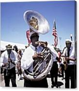 New Orleans Marching Band Canvas Print