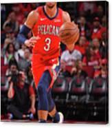 New Orleans Pelicans V Houston Rockets Canvas Print