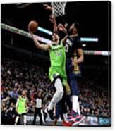 New Orleans Pelicans V Minnesota Canvas Print