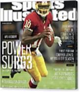 New Orleans Saints Vs Washington Redskins Sports Illustrated Cover Canvas Print