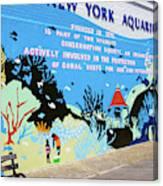 New York Aquarium, Coney Island, Brooklyn, New York Canvas Print