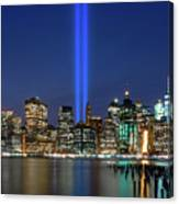 New York City 9/11 Commemoration  Canvas Print