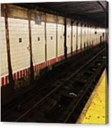 New York City Subway Line Canvas Print