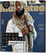 New York Giants Odell Beckham Jr., 2018 Fashionable 50 Issue Sports Illustrated Cover Canvas Print