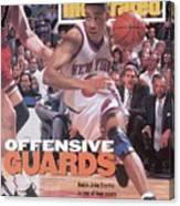 New York Knicks John Starks, 1994 Nba Eastern Conference Sports Illustrated Cover Canvas Print