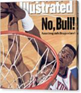 New York Knicks Patrick Ewing, 1993 Nba Eastern Conference Sports Illustrated Cover Canvas Print