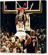 New York Knicks Patrick Ewing Does A Canvas Print