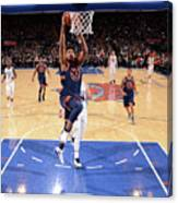 New York Knicks V Charlotte Hornets Canvas Print
