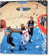 New York Knicks V Dallas Mavericks Canvas Print