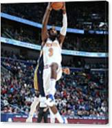 New York Knicks V New Orleans Pelicans Canvas Print