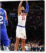 New York Knicks V Philadelphia 76ers Canvas Print