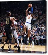 New York Knicks V Toronto Raptors Canvas Print