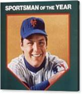 New York Mets Tom Seaver Sports Illustrated Cover Canvas Print