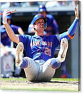 New York Mets V New York Yankees - Game Canvas Print